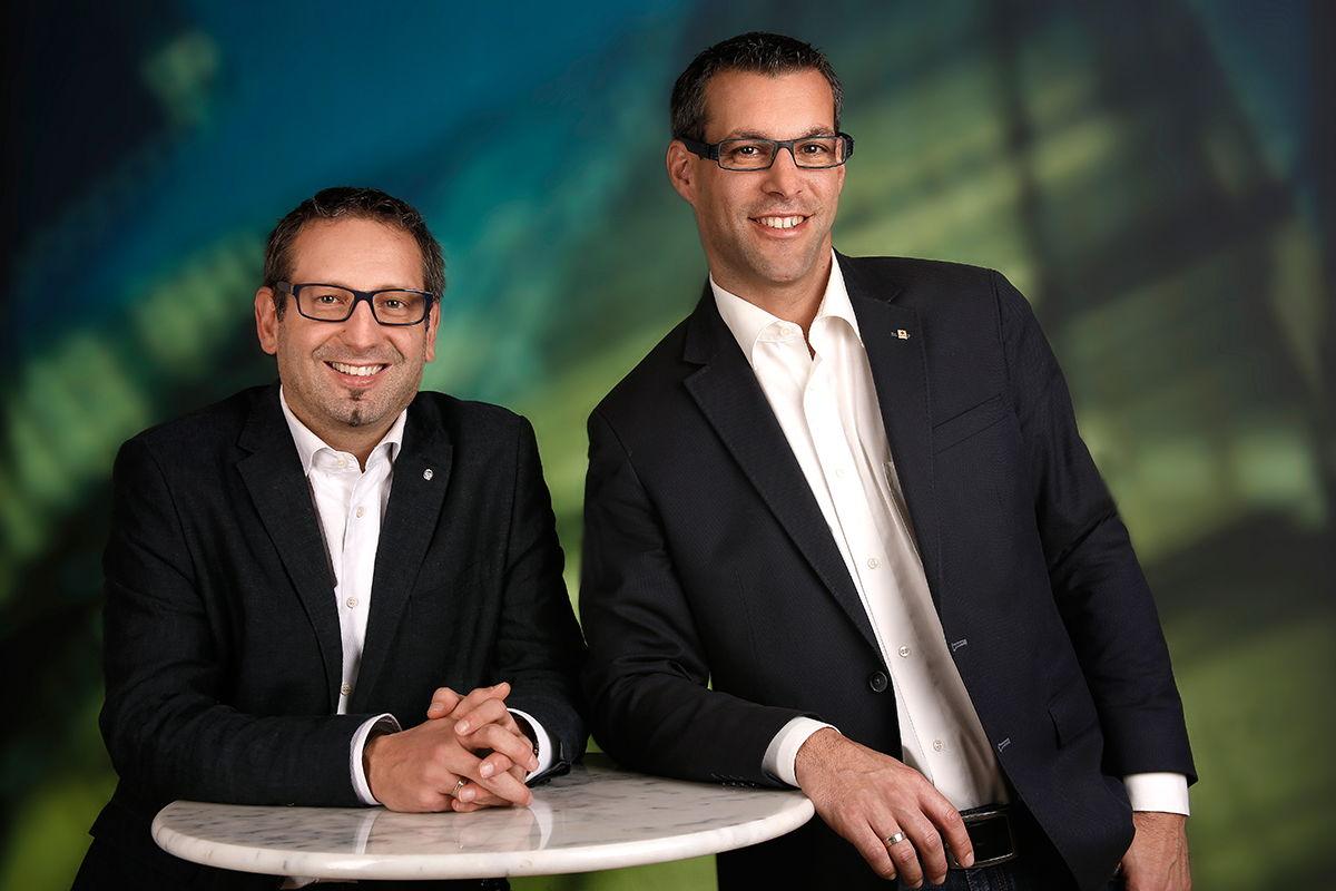 Das P-Quadrat Team: Klaus Pabautz und Christian Pichler